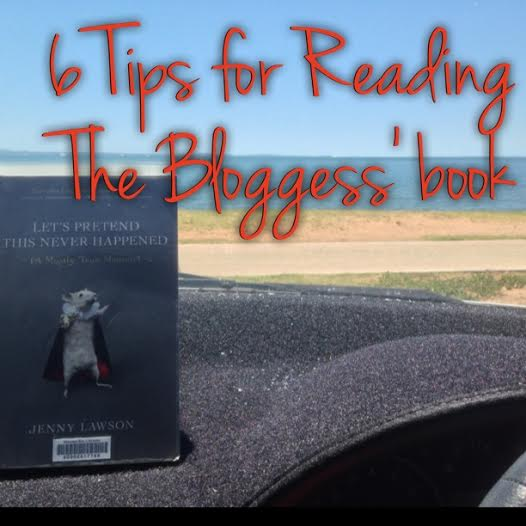 6 tips for reading the bloggess' book