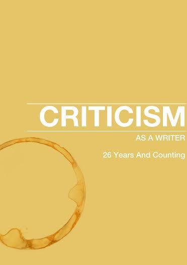 Criticism As A Writer