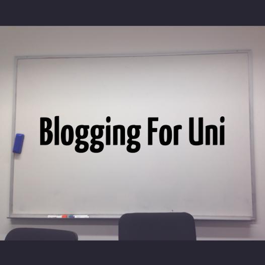 Blogging For Uni