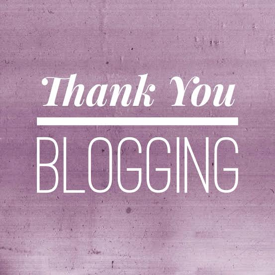 Thank You Blogging