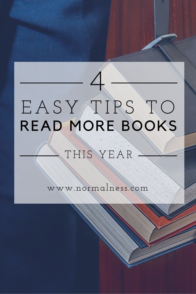 4 Easy Tips To Read More Books This Year