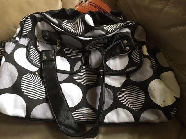 Tote bag for $4 at a garage sale