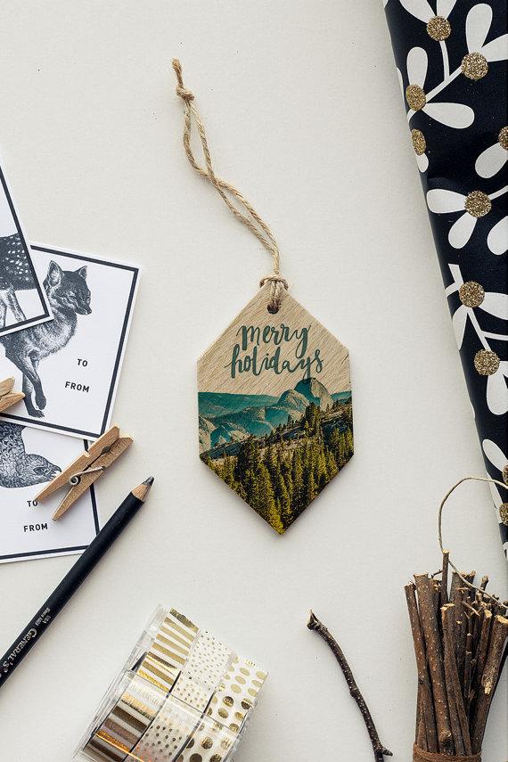 LemoneeOnTheHills Gift Tags Ornaments