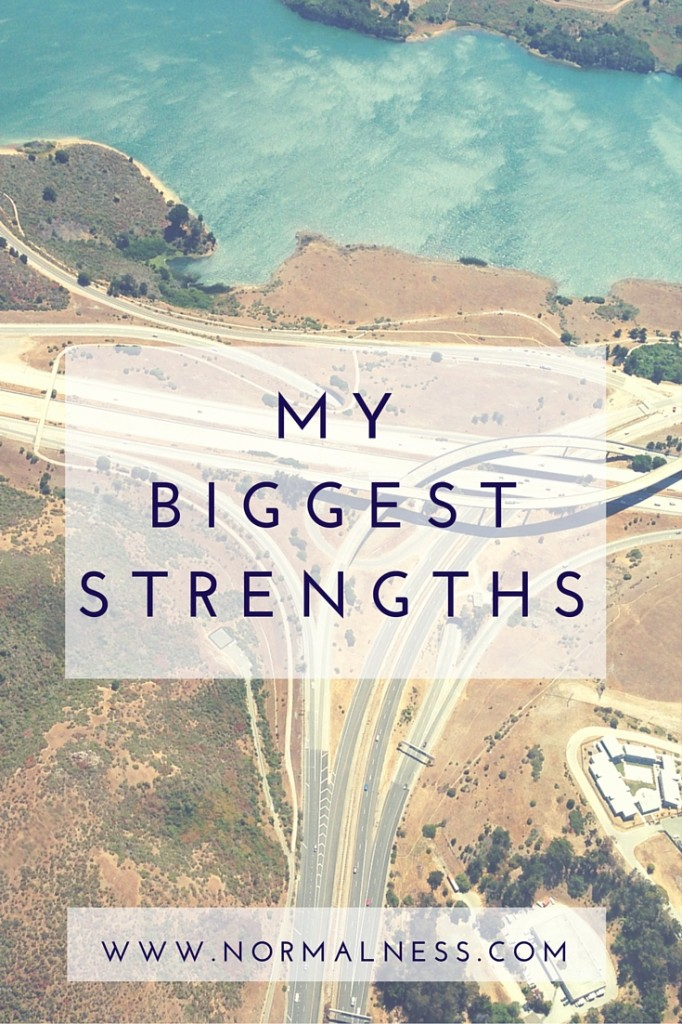 My Biggest Strengths