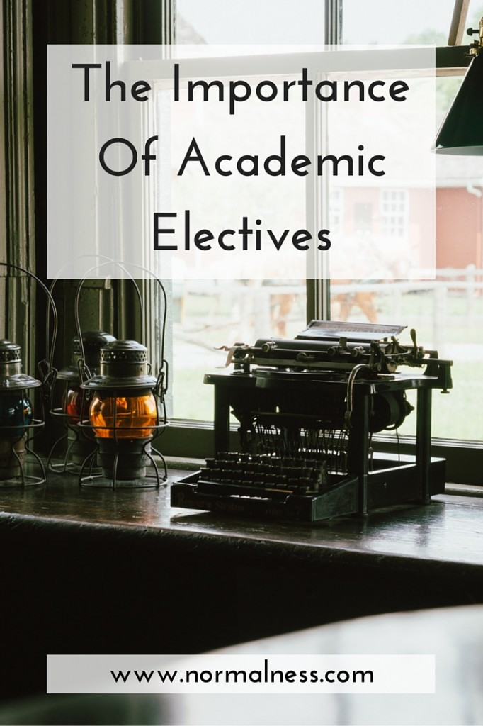 The Importance Of Academic Electives