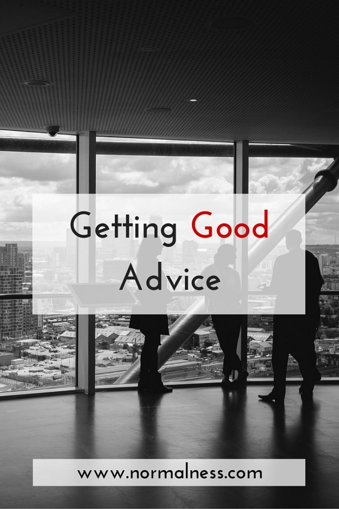 Getting Good Advice