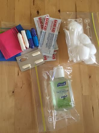 Health Car Kit with sanitiser