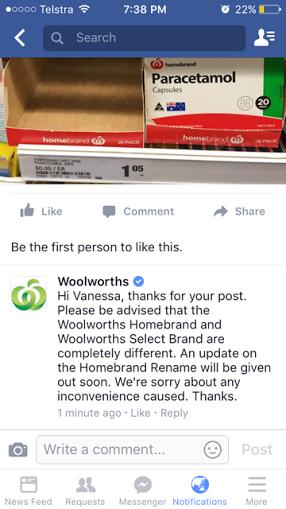 Woolies answer