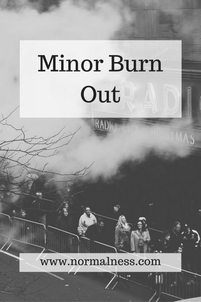 Minor Burn Out