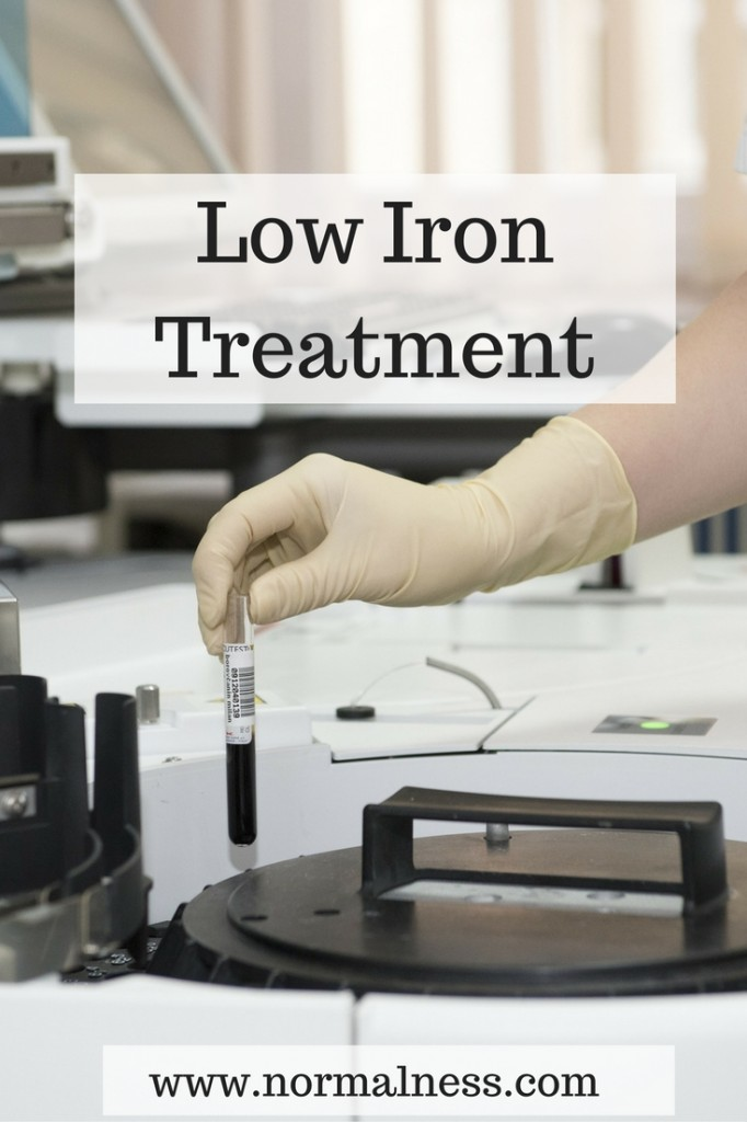 Low Iron Treatment