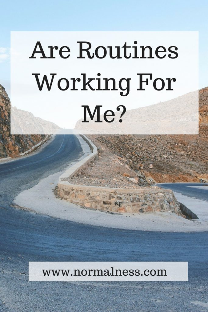 Are Routines Working For Me?