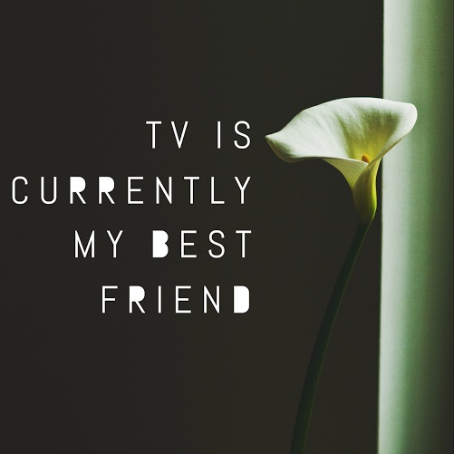 TV is currently my best friend