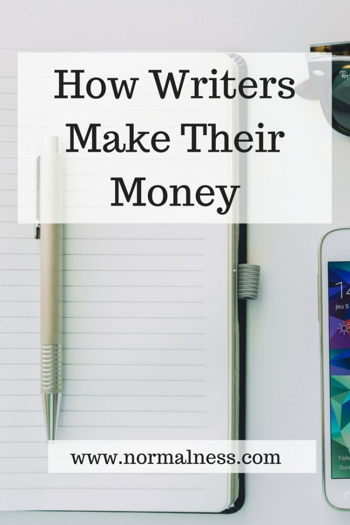 How Writers Make Their Money