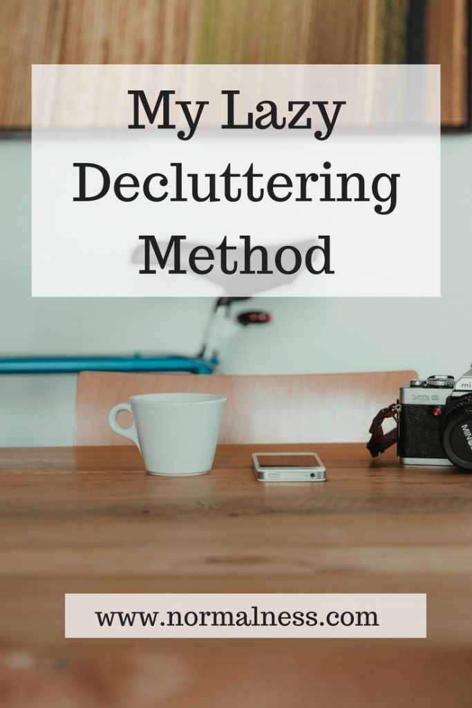 My Lazy Decluttering Method