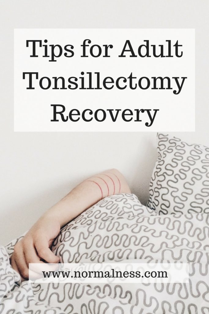 Tips for Adult Tonsillectomy Recovery