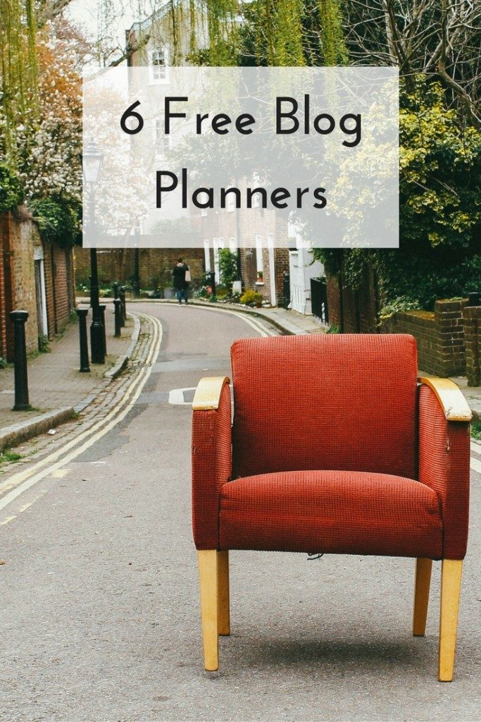 6 Free Blog Planners