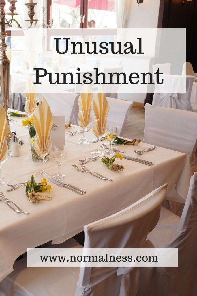 Unusual Punishment