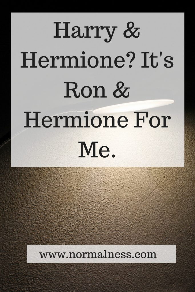 Harry & Hermione? It's Ron & Hermione For Me.