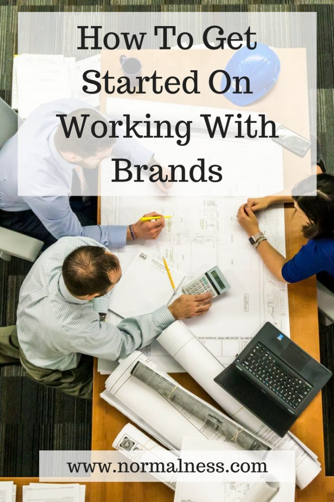 How To Get Started On Working With Brands