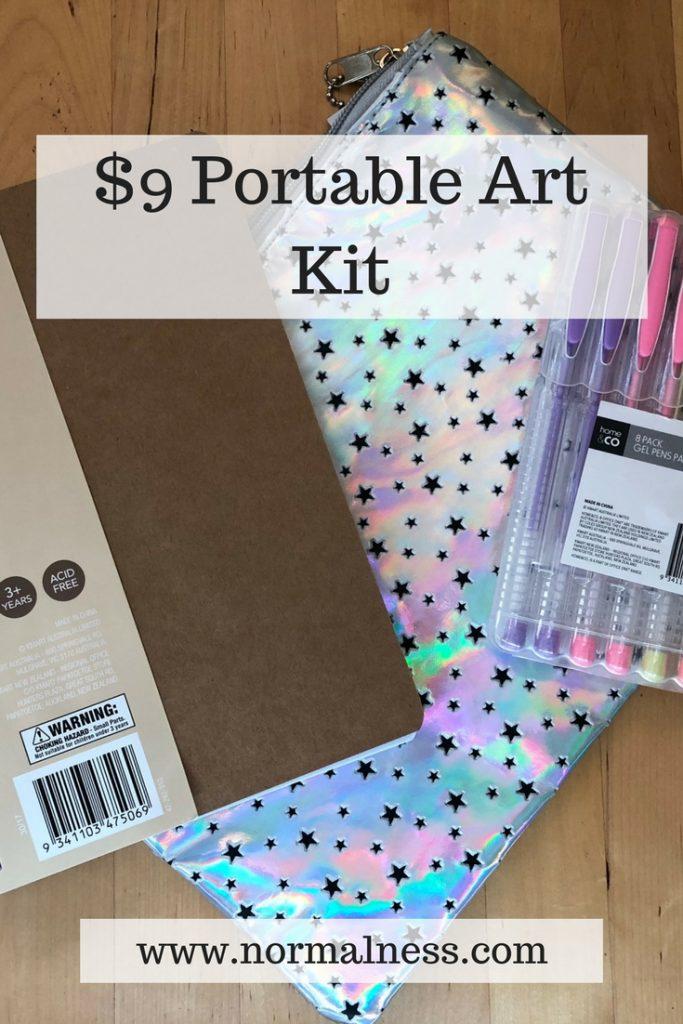 $9 Portable Art Kit
