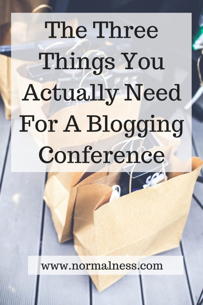 The Three Things You Actually Need For A Blogging Conference