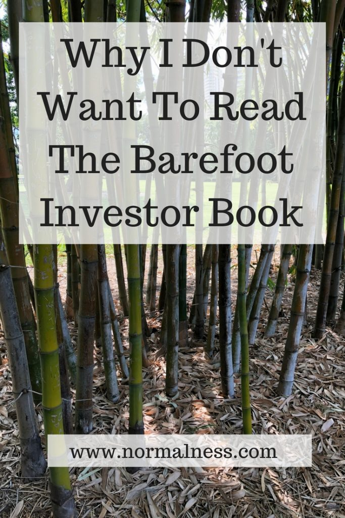 Why I Don't Want To Read The Barefoot Investor Book