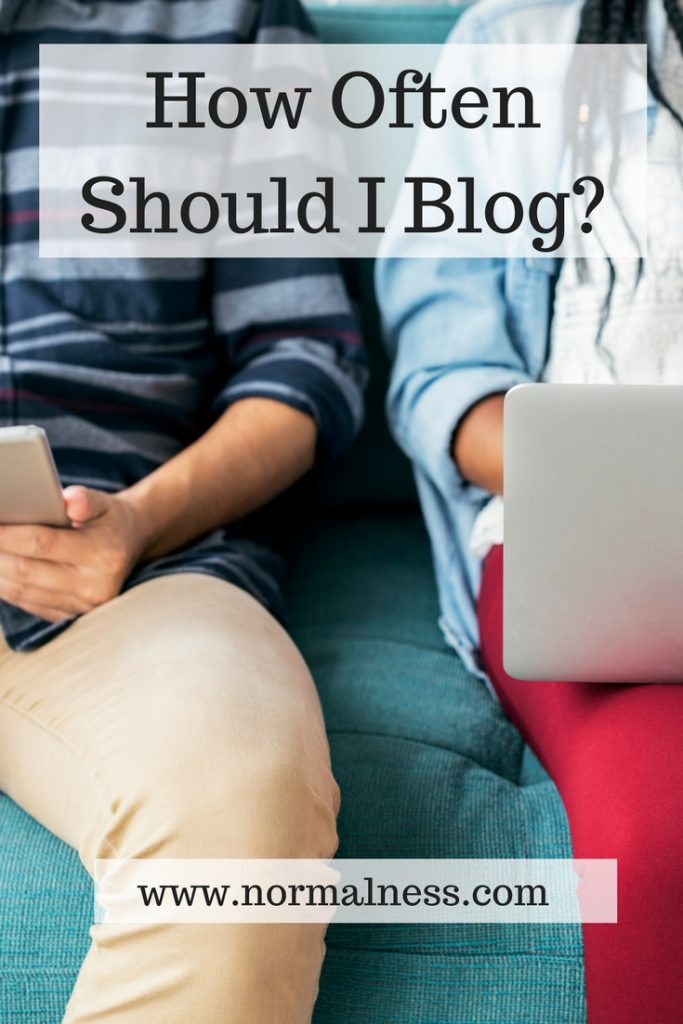 How Often Should I Blog?