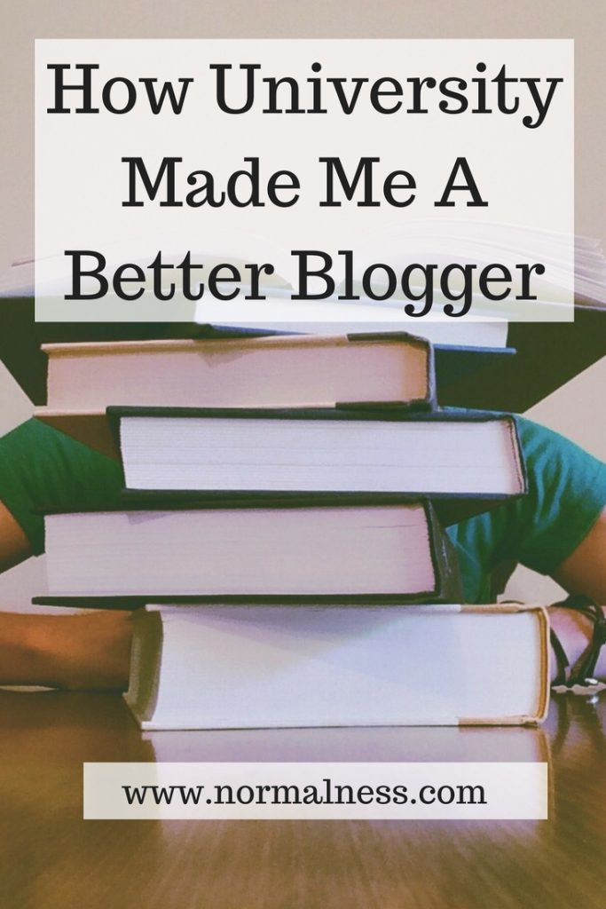 How University Made Me A Better Blogger