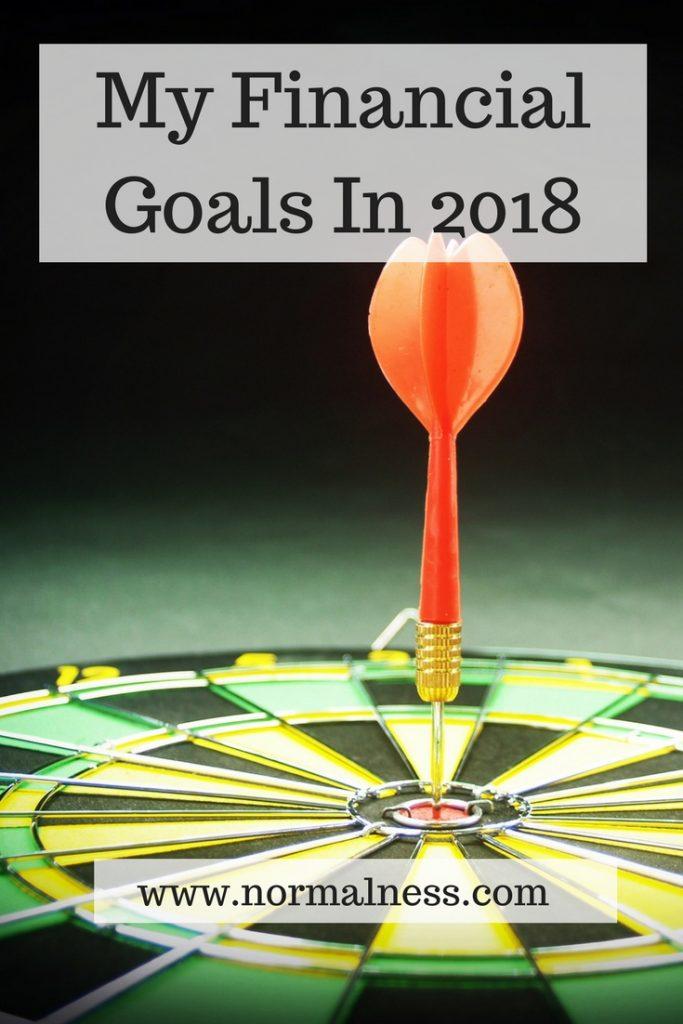 My Financial Goals In 2018
