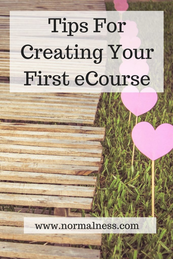 Tips For Creating Your First eCourse