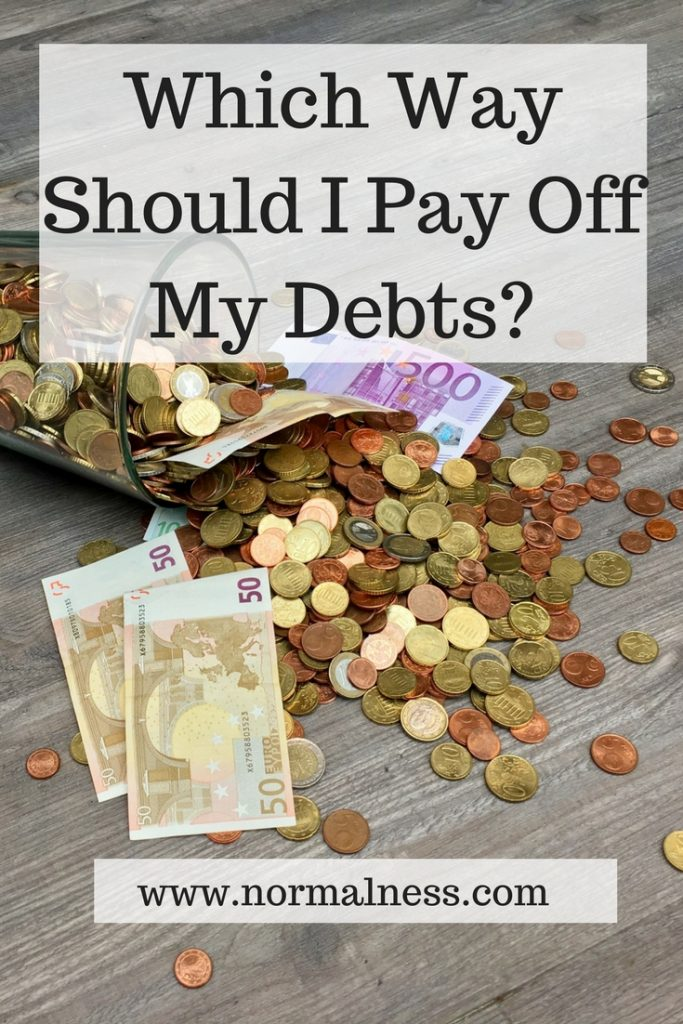 Which Way Should I Pay Off My Debts?