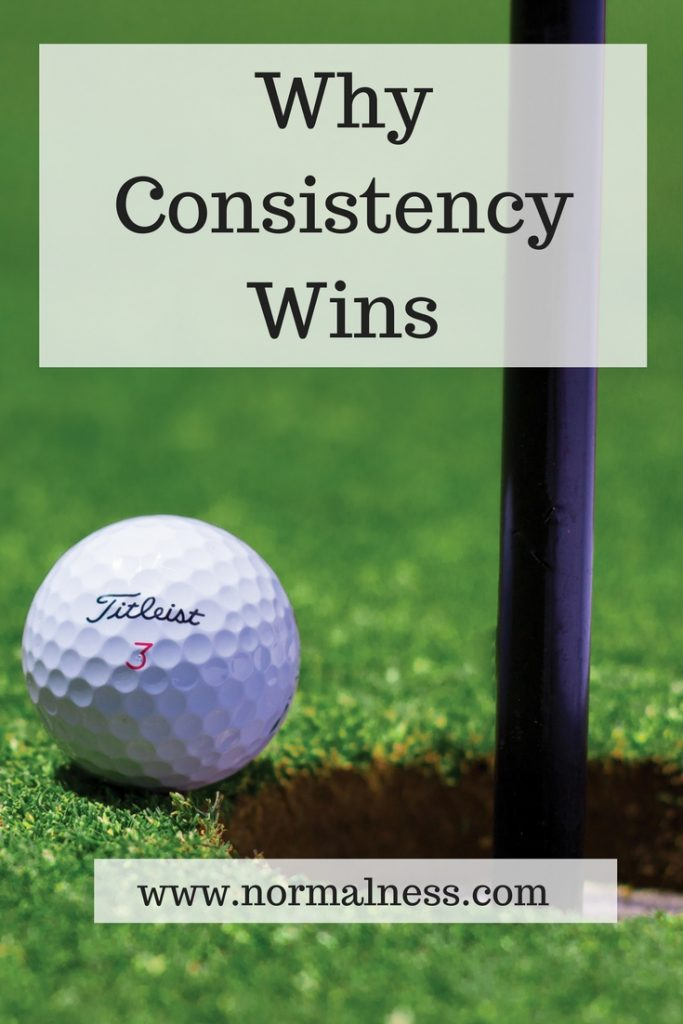 Why Consistency Wins