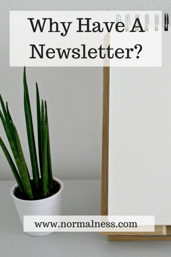 Why Have A Newsletter?