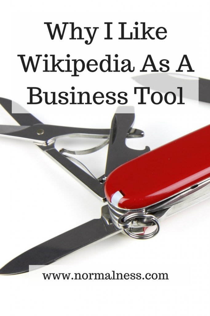 Why I Like Wikipedia As A Business Tool