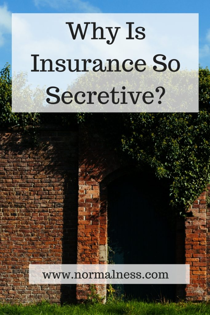 Why Is Insurance So Secretive?