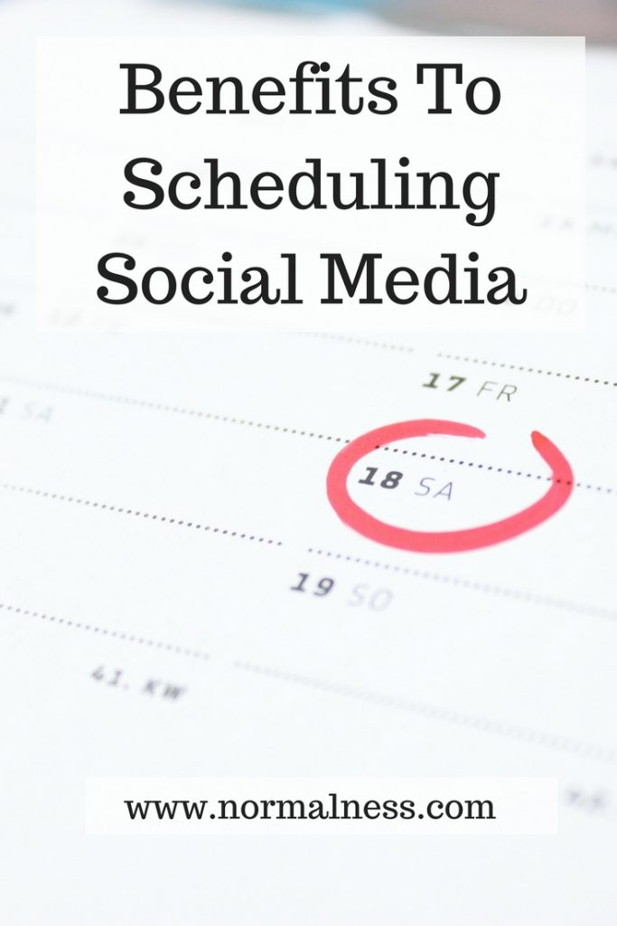 Benefits To Scheduling Social Media