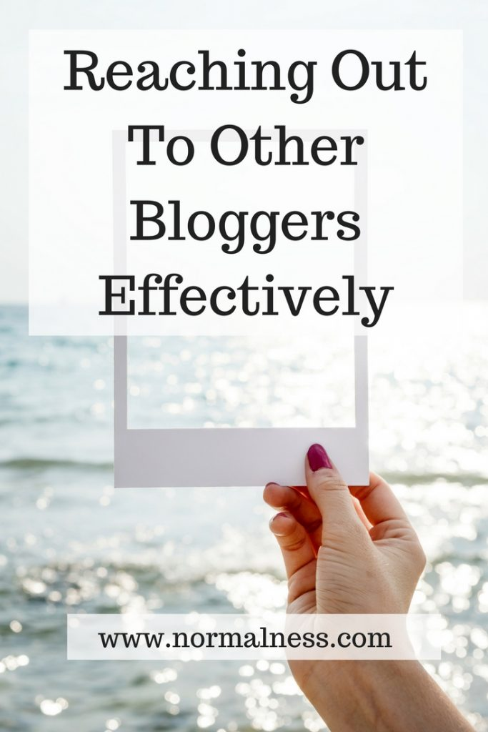 Reaching Out To Other Bloggers Effectively