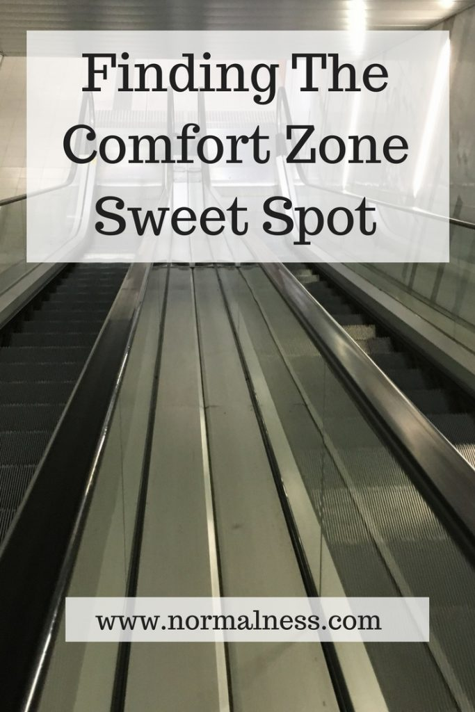 Finding The Comfort Zone Sweet Spot