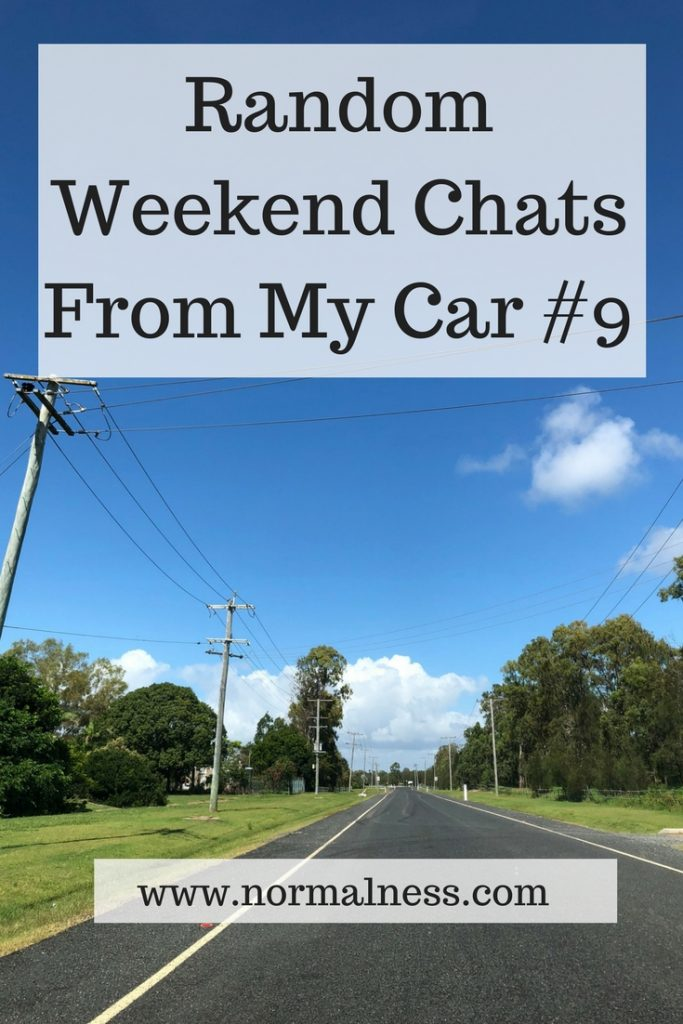 Random Weekend Chats From My Car #9