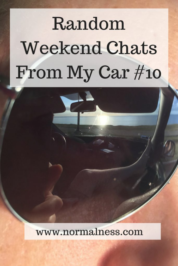 Random Weekend Chats From My Car #10