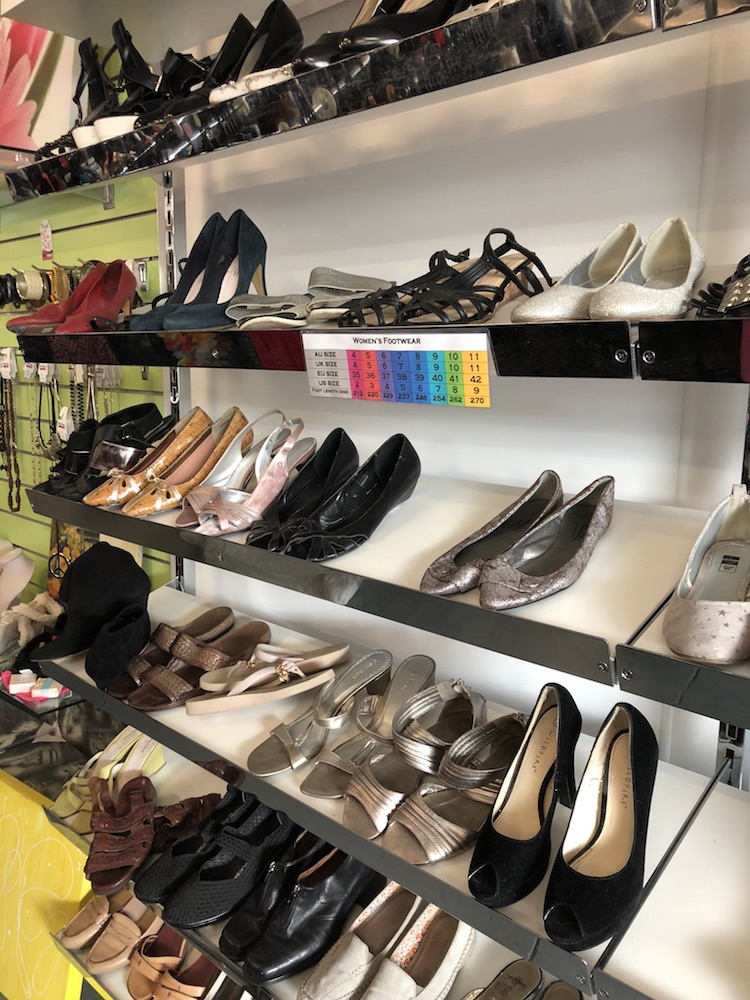 Salvos Op Shop Sandgate Shoes