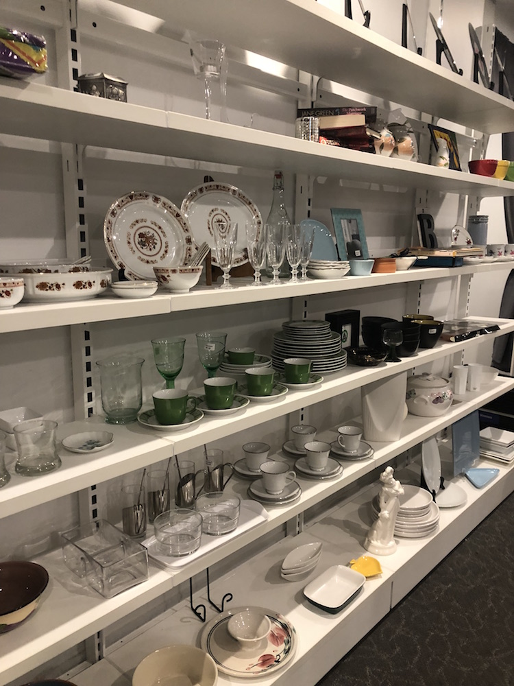 Vinnies Brisbane CBD Op Shop Homewares