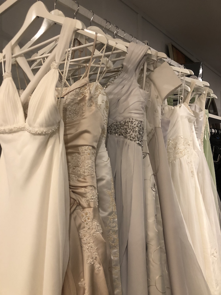 Vinnies Brisbane CBD Op Shop Wedding Dresses