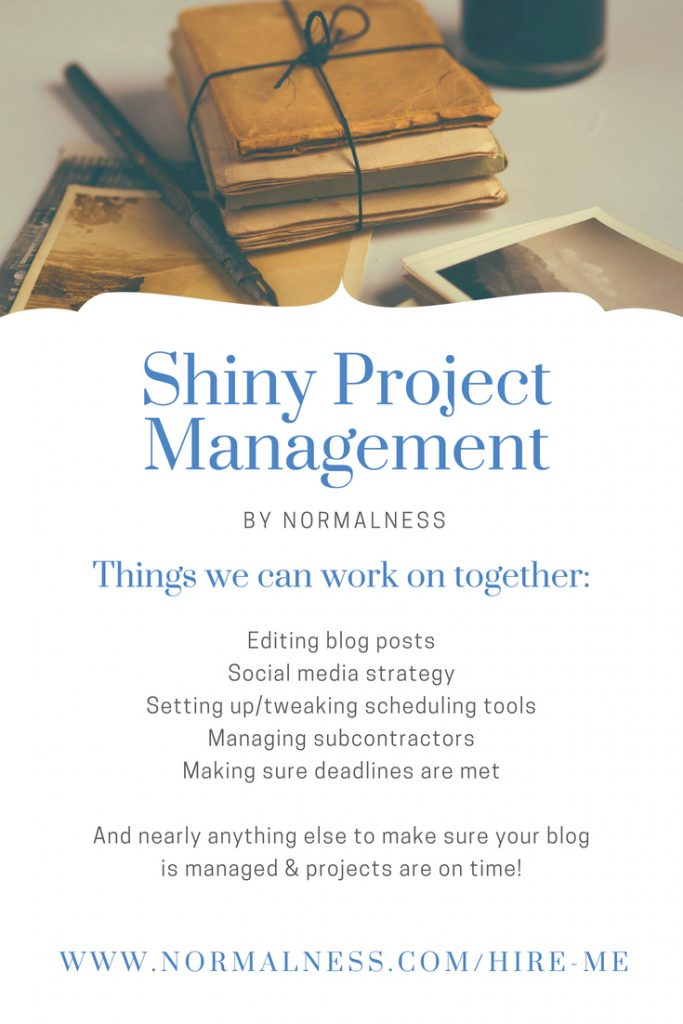 Shiny Project Management