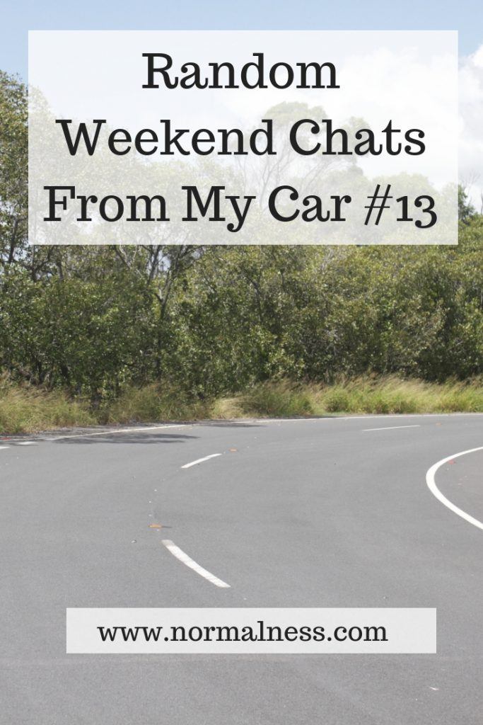 Random Weekend Chats From My Car #13