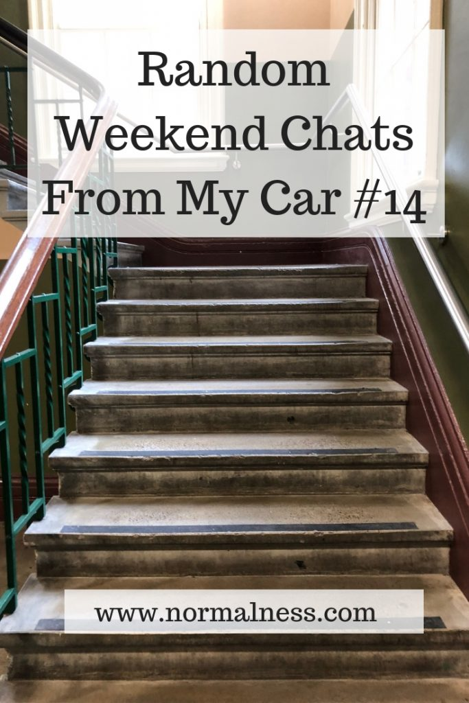 Random Weekend Chats From My Car #14