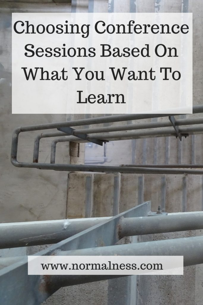 Choosing Conference Sessions Based On What You Want To Learn