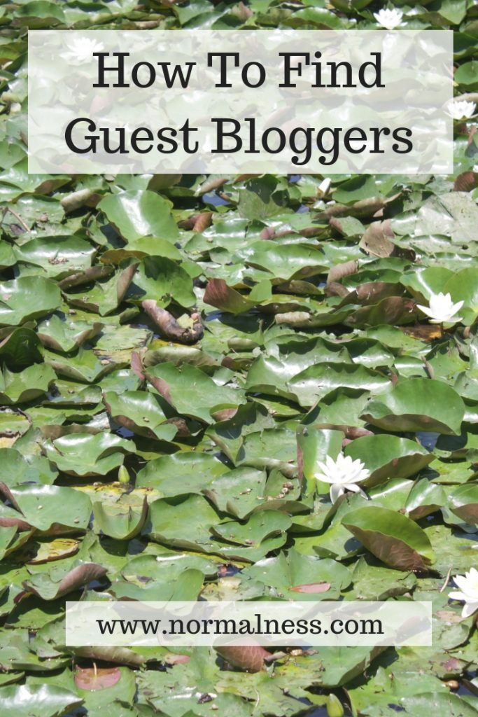 How To Find Guest Bloggers