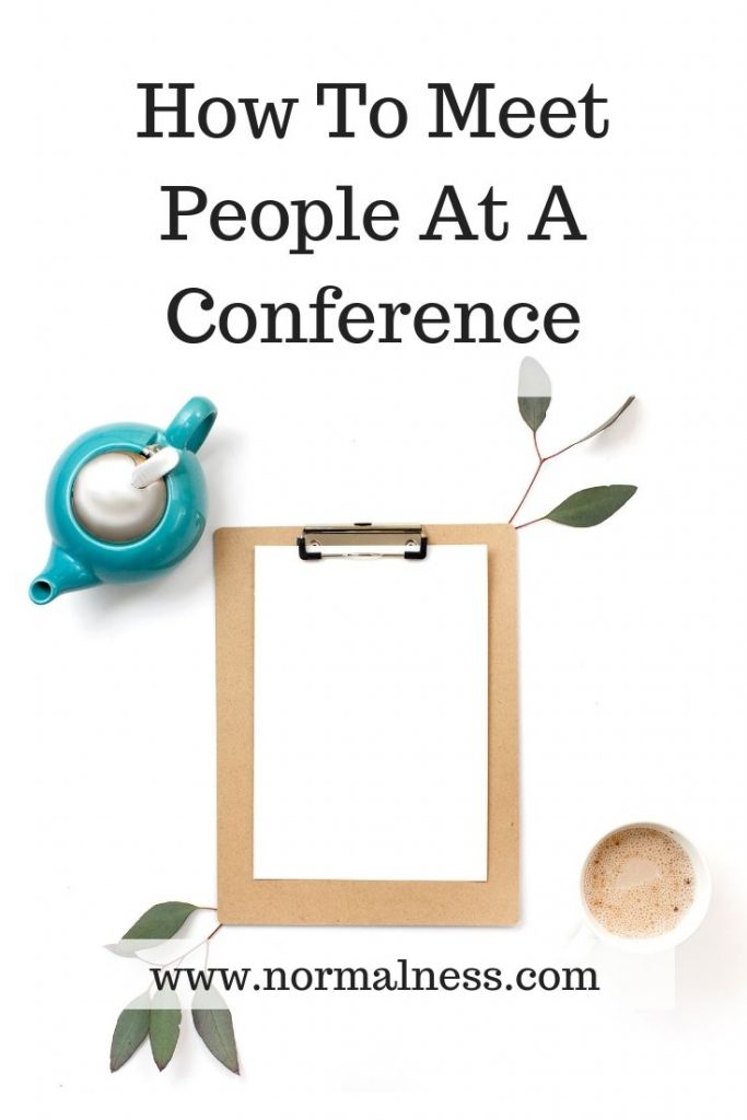 How To Meet People At A Conference
