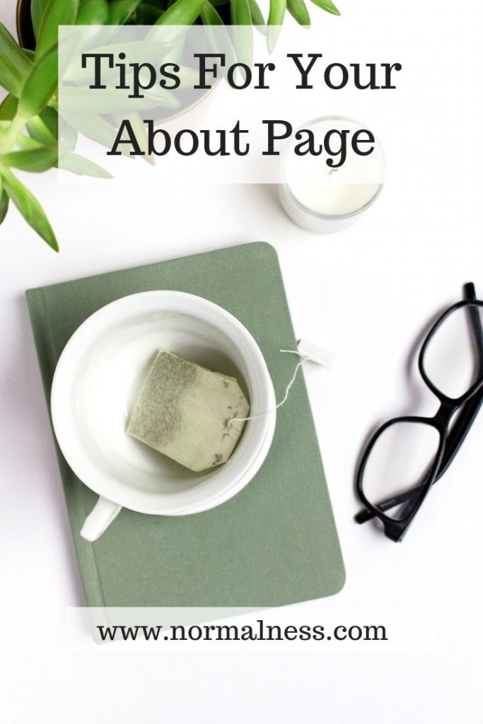 Tips For Your About Page